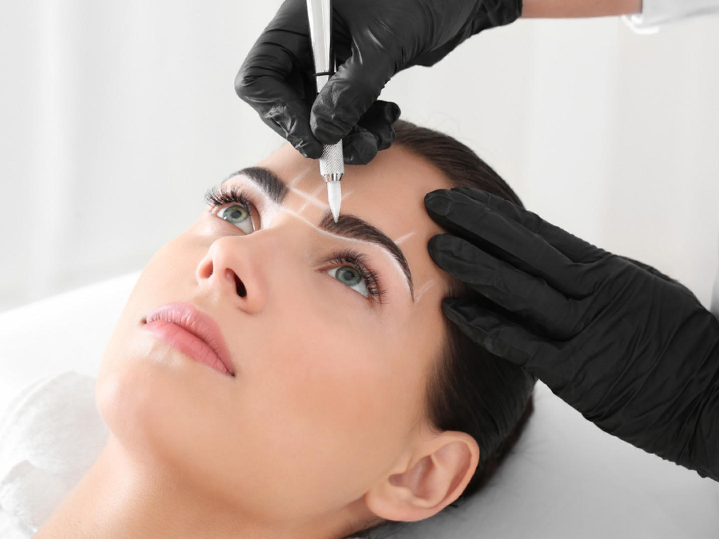 Allure specializes in natural microblading techniques to improve the fullness and shape of the brows